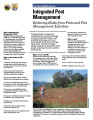 Integrated pest management: reducing risks from pests and pest management activities
