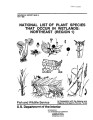 National list of plant species that occur in wetlands: Northeast (Region 1)