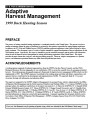 Adaptive harvest management 1999 duck hunting season
