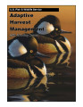 Adaptive harvest management 2005 duck hunting season