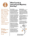 What exactly is International Migratory Bird Day?