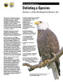 Delisting a species: Section 4 of the Endangered Species Act