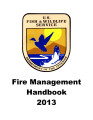 Fire management handbook 2013