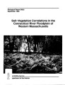 Soil-vegetation correlations in the Connecticut River floodplain of western Massachusetts
