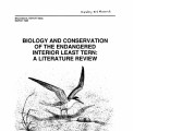 Biology and conservation of the endangered interior least tern: a literature review