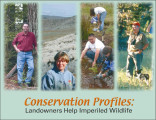 Conservation profiles: landowners help imperiled wildlife