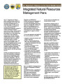 Integrated Natural Resources Management Plans (INRMP)
