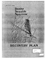 Dusky seaside sparrow recovery plan