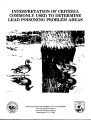 Interpretation of criteria commonly used to determine lead poisoning problem areas
