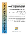 Assessment of general health of fishes collected at selected sites within the Great Lakes Basin in...