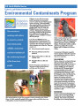 Environmental Contaminants Program