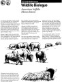 Wildlife biologue: American buffalo: (bison bison)