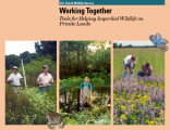 Working together: tools for helping imperiled wildlife on private lands