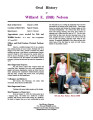 Willard (Bill ) E. Nelson oral history transcript