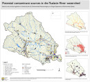 Potential contaminant sources in the Tualatin River watershed
