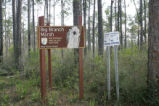 Entrance sign to the Big Branch Marsh National Wildlife Refuge.