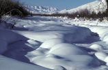 Wind River in Winter
