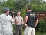 Bon Secour National Wildlife Refuge Manager Jereme Phillips interviewed by newsgroup.