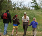 Docent led birding hike on Stone Lakes National Wildlife Refuge
