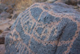 Petroglyph on the Cabeza Prieta National Wildlife Refuge