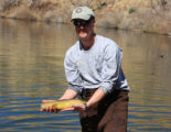 Releasing a Gila Trout