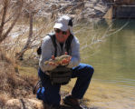 First Catch of Stocked Gila Trout