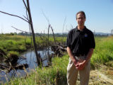 Paul Heimowitz on Camera at the Tualatin River National Wildlife Refuge