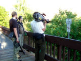 Filming Nutria Habitat in Beaverton, Oregon