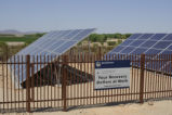 Solar Panels on Cibola National Wildlife Refuge
