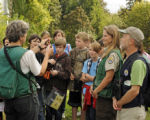 Students Learn About Birding at William L. Finley National Wildlife Refuge