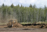 Removing a Dike in the Cranberry Bog