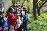 Students Birdwatching
