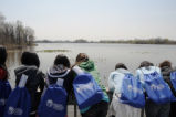 Students on Tinicum Marsh