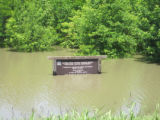 Mississippi: Ducks Unlimited sign, May 9