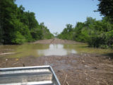 Roads Flooded on the Big Lake National Wildlife Refuge