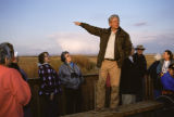 National Wildlife Refuge Manager Speaks to Visitors