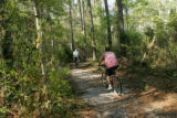 Biking the refuge trail