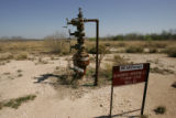 Abandoned gas well