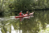 Refuge kayakers