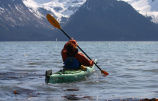 Kayaking on Resurrection Bay