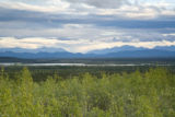 Mountains and lakes at Tetlin National Wildlife Refuge