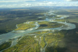 Aerial view of Yukon Flats National Wildlife Refuge