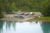 Boat lauching area at Kenai National Wildlife Refuge