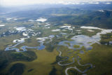 Aerial shot of Tetlin National Wildlife Refuge