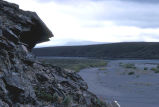 Rock Outcropping on the Noatak River