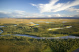 Scenic landscape at Selawik National Wildlife Refuge in Alaska