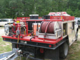 Water truck used for fires at Seney National Wildlife Refuge