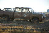 Retired and salvaged U.S. Fish and Wildlife Service truck