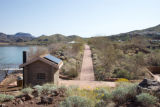 Solor powered building and paved nature trail