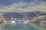 Pumping plant and bridge at Lake Havasu